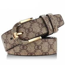 2016 New Top genuine leather men double g belt ceinture luxury belts orange guchi Designer high quality women/men belts gg brand