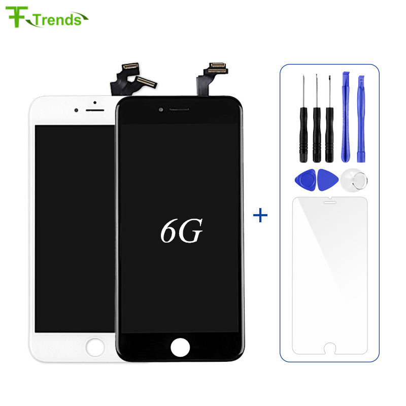 Fftrends 1pcs Replacement Mobile Phone Parts For Pantalla IPhone 6 LCD Touch Display Screen Digitizer With Gift By Free Shipping