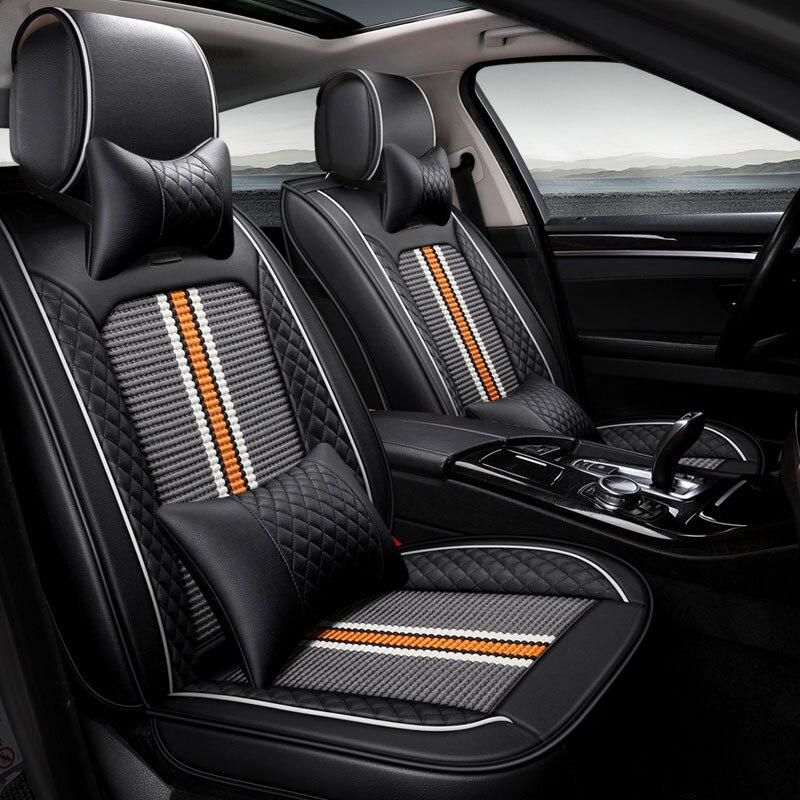 New car seat covers auto seat protector mat for renault latitude logan megane 2 3 sandero scenic 1 2 3 talisman car accessories