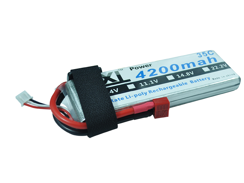 XXL Rechargable Li-Po Battery 7.4V 4200mAh 35C max 70C 2S For All RC Model Car E