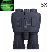 Gen1 Field Tactical Scout 5x Full darkness zoom 5X Night Infrared Vision Binoculars Telescope #NS-088