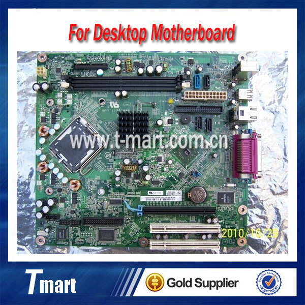 ФОТО 100% working Desktop motherboard for DELL GX320 UP453 MH651 CU395 TY915 System Board fully tested
