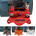 Motorcycle Rpm Cnc Rear Brake Caliper 2 Piston 84mm Pitch Location Hydraulic Disc Brake Pumb For Yamaha Scooter Modify