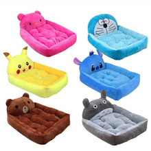 Five Kinds Lovely Cartoon Pet Bed Dog Kennel Top Quality Soft Cat Bed Large Dog House Mat Waterpoof Puppy Comfortable Bed House