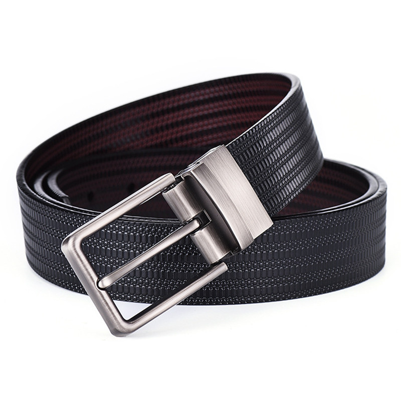 Men's Belts Hearty El Barco Fashion Leather Men Belts High Quality Cowhide Luxury Designer Black Blue Male Belts Coffee Brown Belt Rotating Buckle Catalogues Will Be Sent Upon Request