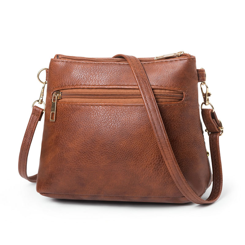 REPRCLA 2019 Hollow Out Women Bag Handbag Vintage Messenger Shoulder Bag PU Leather Crossbody Bags for Women Bolsa Feminina in Shoulder Bags from Luggage Bags