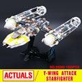 Lepin 05040 Serie Guerra de las Galaxias Y de Ataque del ala Caza Estelar Bloque de Construcción Ensambladas Juguete del ladrillo Compatible con Juguetes Educativos 10134