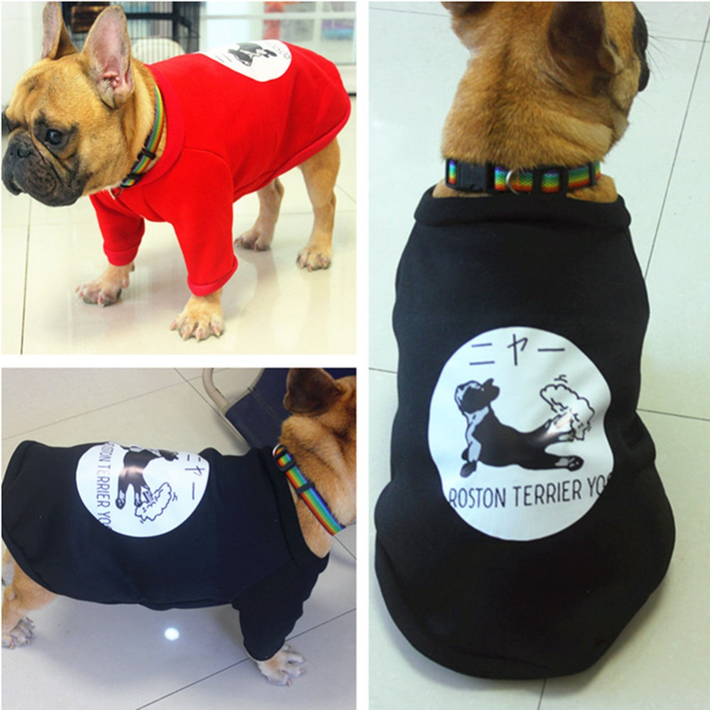 Thickening Warm Cotton Small Dog Coat Jacket Funny Cute Pet Dog Costume Winter Pug French Bulldog Teddy Clothes For Small Dogs