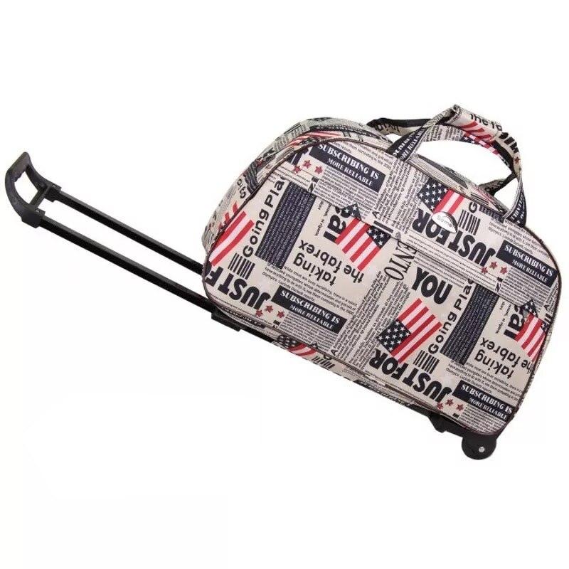 100% Wahr Neue Wasserdichte Roll Gepäck Tasche Dicke Stil Kinder Trolley Koffer Trolley Tasche Frauen & Männer Marke Reisetaschen Tragen Auf Räder