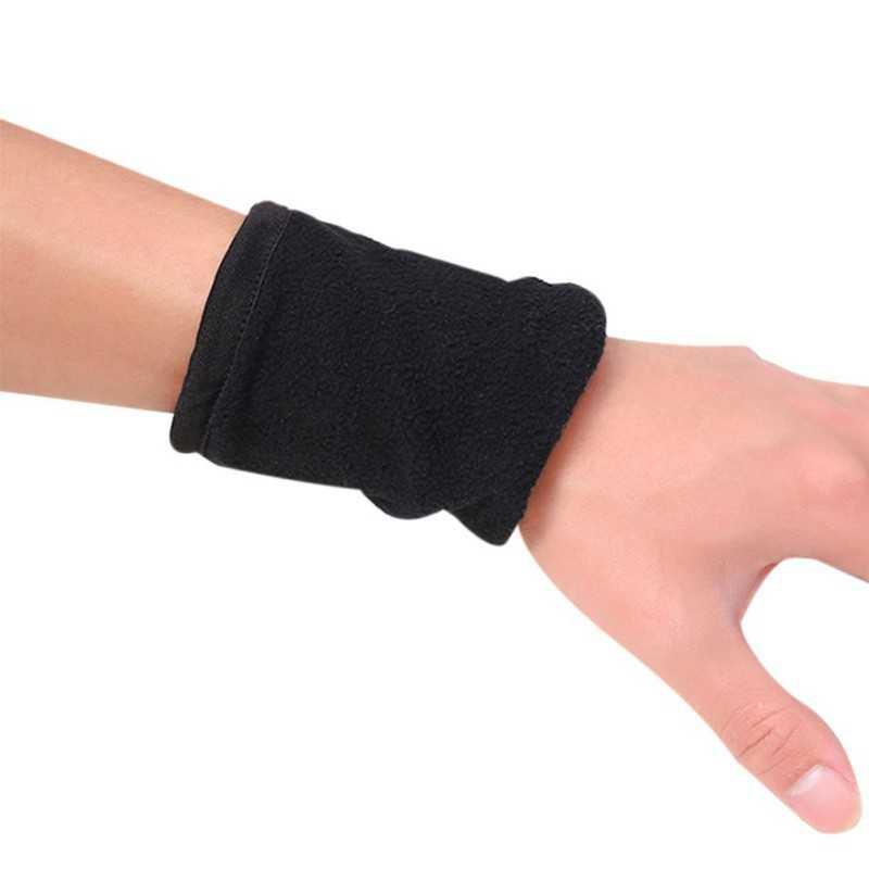 ジッパースポーツリストバンドジムフィットネス手首支持ストラップラップ稼働バドミントンの手首のアームバンドバッグポケット