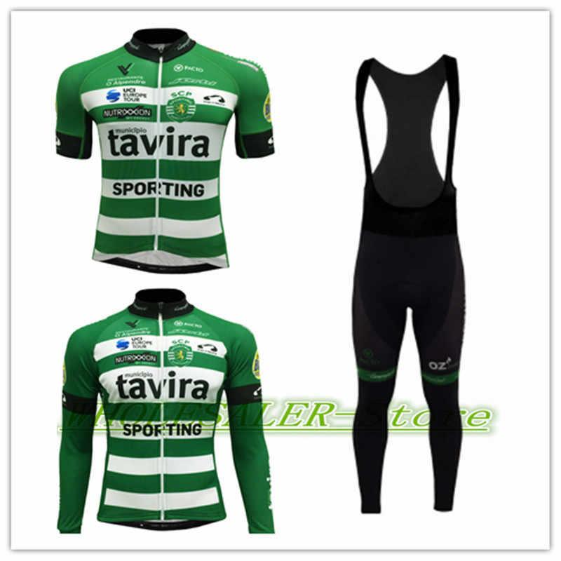 b43c4ddb2 2018 Sporting Tavira Camisola Manga Comprida Maillot team dh Pro Racing  Porto cycling jerseys fh Bike