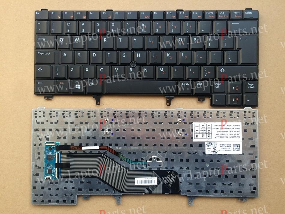 UI Keyboard for Dell Latitude E6320 E6420 E5420 E6220 E6430 Black With Point Laptop keyboard
