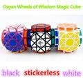 Ruedas de la Sabiduría DaYan Cubo Mágico Blanco Y Negro Y el Cubo mágico Stickerless Aprendizaje y Educativos Juguetes