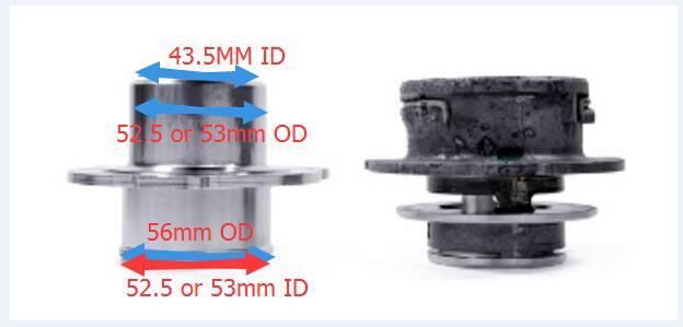 US $20 0  EA113 turbo outlet K04 K03 MK5/6 turbo muffler delete for GTI TT  S R20 Golf R ED30 ED35 Scirocco MK3 Seat Cupra S3 A3 2 0L TFSI-in Hoses &