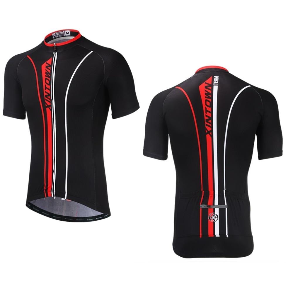 XINTOWN Cycling Jersey Bike Bicycle Motocross Downhill Mtb Jersey Men Women Pro Short Sleeve Quick Dry Clothing Triathlon QINGTH thumbnail