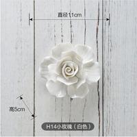 Diy 2017 avrupa seramik çiçek duvar asılı süsleme ev arka plan duvar sanatlar el sanatları otel/restoran ev dekorasyon