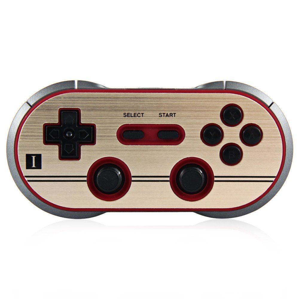 Official 8BitDo F30 Pro Bluetooth Wireless Controller GamePad With Joystick For Switch Android MacOS Steam Windows 8bitdo fc30 pro wireless bluetooth controller dual classic joystick for android gamepad pc mac linux