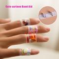 5PCS/Lot  Cute Cartoon Band Aid  Wound Paste Plaster Hemostasis Cartoon Medical Bandage Freeshipping