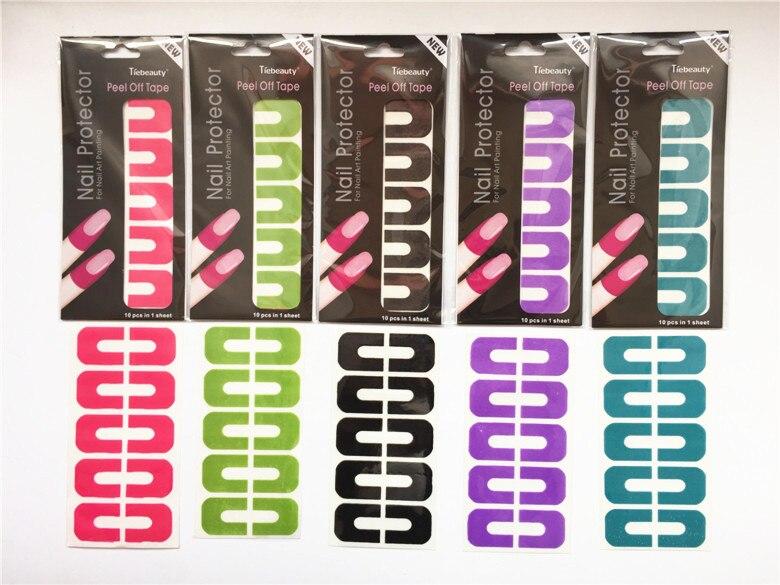 White Pink L Off Liquid Nail Art Tape Latex Finger Cuticle Skin Protected Palisade Base Coat Care Defender Polish