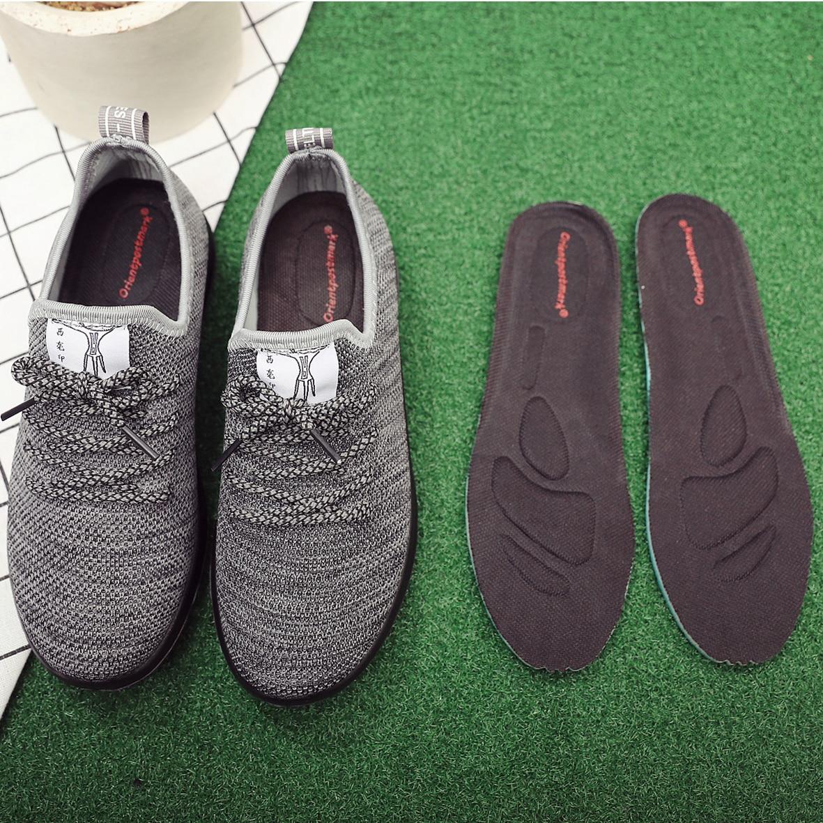 Orientpostmark 1 пара унисекс стрейч дышащая дезодорант для обуви мягкой боли Бег Подушки Стельки Pad Вставить