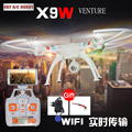 BQD R/C X9F/X9W/X9C 4CH Quadcopter Drone Helicopter With 5.8G FPV Real Time Transmission Wifi Camera PK X8C/X8W Aventure