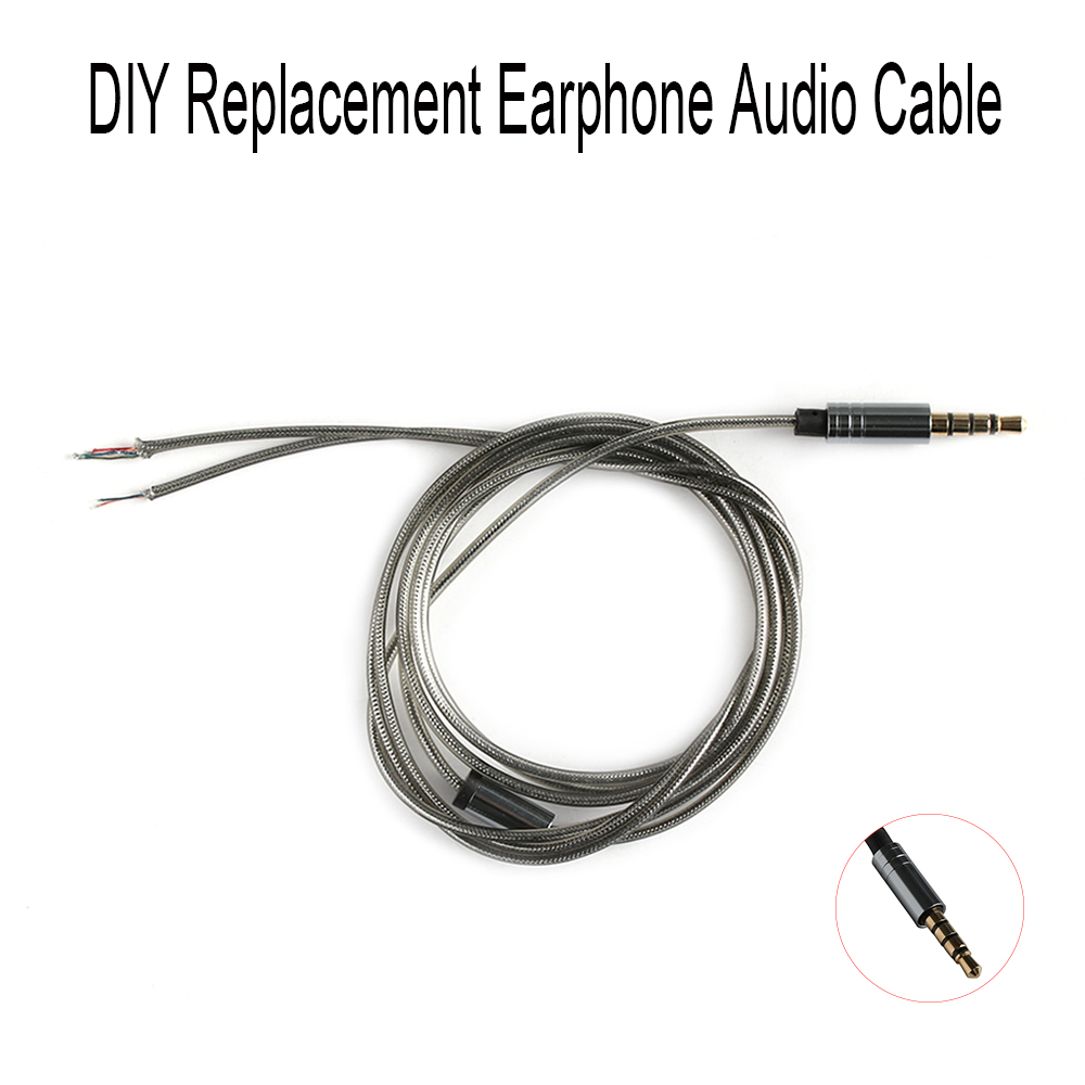 HIFI Earphone Cable for DIY Replacement 1.2m Audio Cable