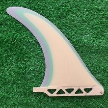 Красочные 8 дюймов доска для серфинга Sup одиночные плавники гонки для серфинга плавники для серфинга