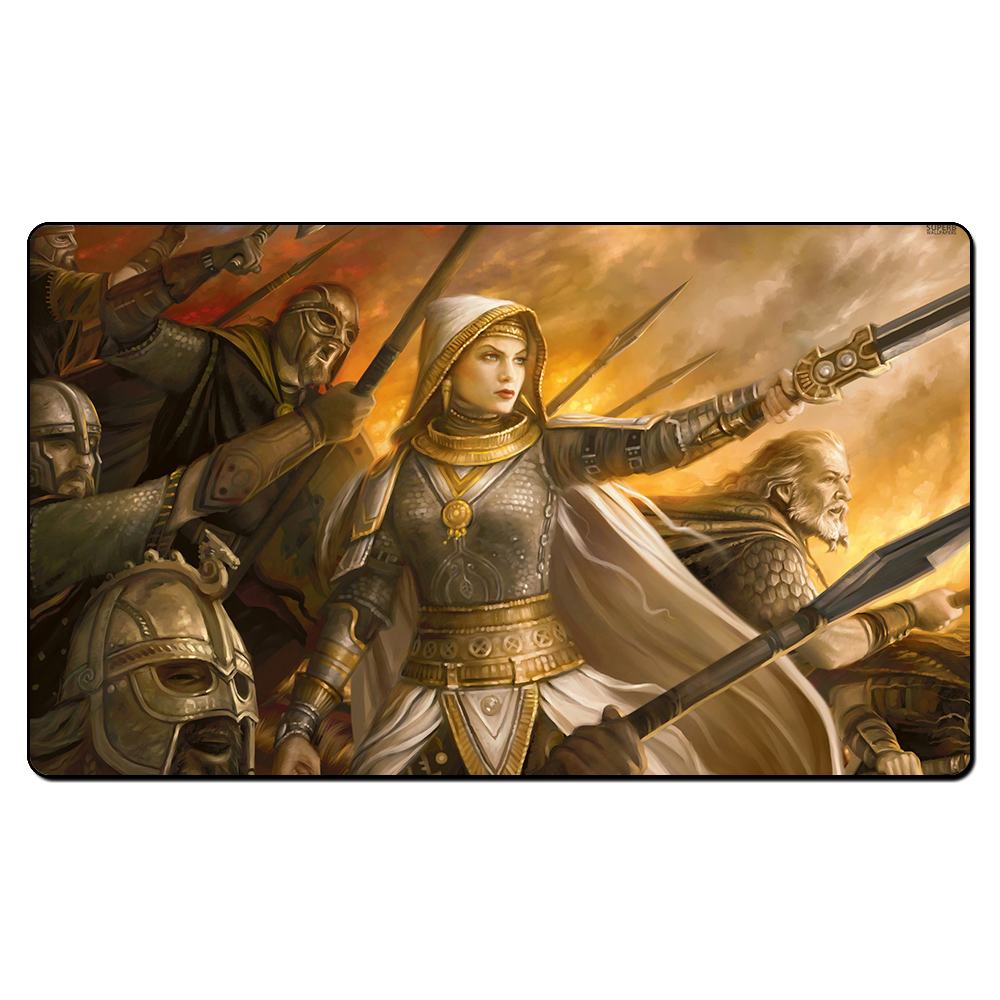 (Elspeth for the Win) Board Games Playmats, Magical Card Play Mat, The Games Game Pad Custom Design With Free Gift Bag