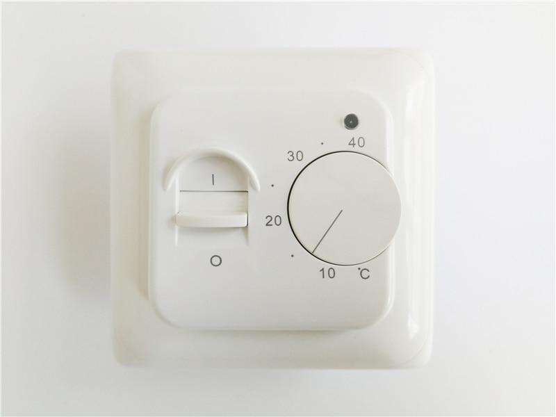 купить  AC220V 16A floor heating thermostat, Room thermostat with Built in NTC temperature sensor  онлайн