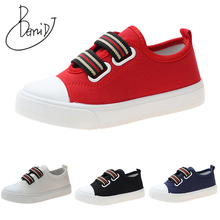2019 Autumn New Children Canvas Shoes Girls Sneakers Breathable Spring Fashion