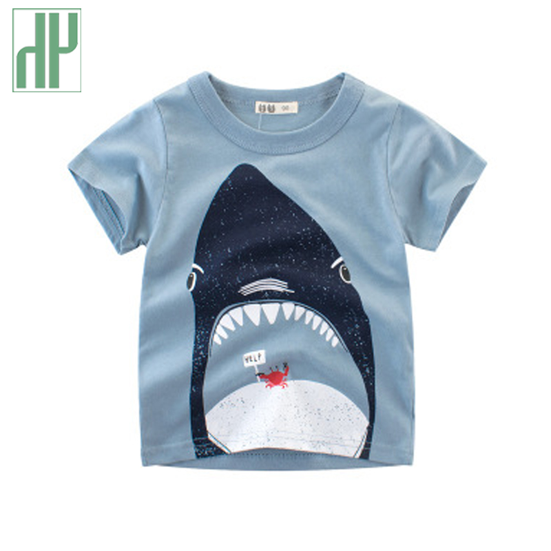 e1b2173c18cf Kids tshirt animal print Cotton 2019 Summer toddler boy shirt shark Printed  Short Sleeve baby girl t shirt children clothes - aliexpress.com - imall.com
