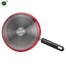 Frying Pan Skillet Cookware Shallow Beefsteak Fry Nonstick Cook 24cm 8inch Battercake