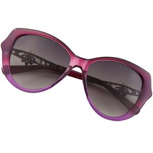 Image 3 - Sunglasses Women Charming Vintage Elegant Flower Decorate Ladies Sun Glasses Luxury Female Sexy Girl Eyewear