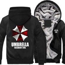 2017 hot Anime Resident Evil umbrella Hooded hoodies sweatshirt
