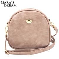 Mara's Dream 2019 Mode Vrouwen Handtas Messenger Bags PU Lederen Schoudertas Lady Crossbody Mini Bag Vrouwelijke Kroon Avond tassen