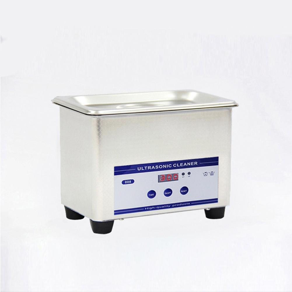 Adoolla 800ML Exquisite Stainless Steel Ultrasonic Cleaner Digital Ultrasound Wave Washing Unit