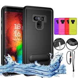 MAYROUND Waterproof Shockproof Case For Samsung Galaxy Note 9 S9 Plus Hybrid Full Body Protective Phone Cases Covers