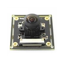 Raspberry Pi 3 B + módulo de cámara OV5647 ojos de pez gran angular Focal ajustable para el módulo de la Cámara de monitoreo del timbre