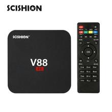 SCISHION V88 RK3229 Android 5.1 Smart TV Box 1G / 8G Quad Core KODI 16.1 XBMC 4K Mini PC WiFi H265 DLNA Miracast HD Media Player
