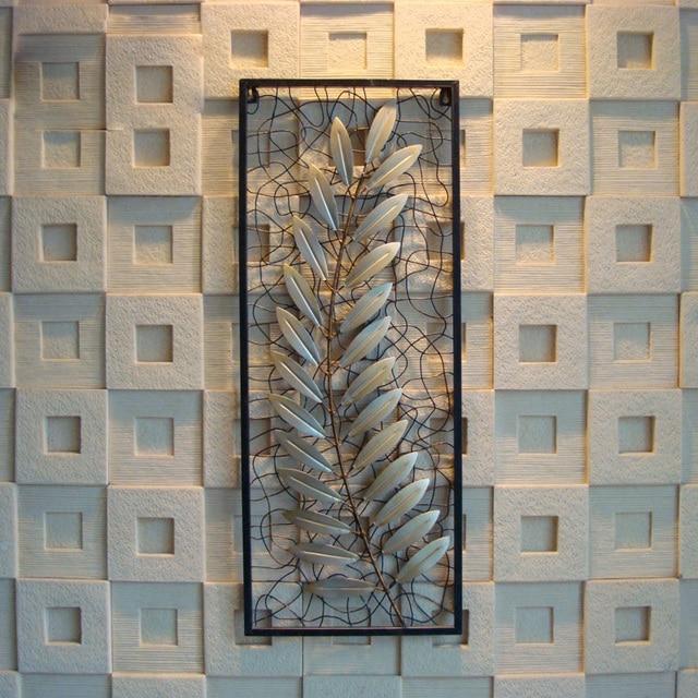 bb7df4fa7fd Hierro europeo pared colgante de pared deja elegante creativo de montaje en  pared adornos muebles para
