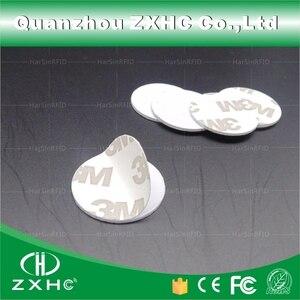 Image 4 - (100 pcs) 25 millimetri 13.56 Mhz RFID Carte IC 3 M Sticker Coin Card FM1108 Circuito Integrato Compatibile S50 Per Il Controllo di Accesso