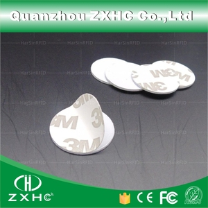 Image 4 - (100pcs) 25mm 13.56 Mhz RFID Cards IC 3M Sticker Coin Cards FM1108 Chip Compatible S50 For Access Control