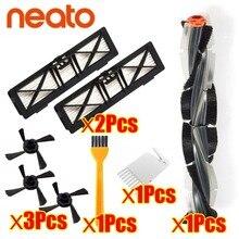 משולבת מברשת להב מברשת ומברשת מקצף עבור Neato Botvac D3 D4 D5 D6 D7 מחובר D סדרת ואקום שואבי ערכת חלקים