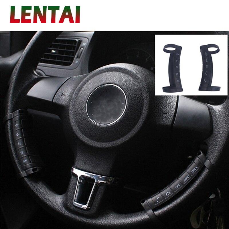 LENTAI 1 Set contrôleur de volant sans fil multifonction boutons de Navigation DVD pour Renault Megane Duster Captur Chevrolet