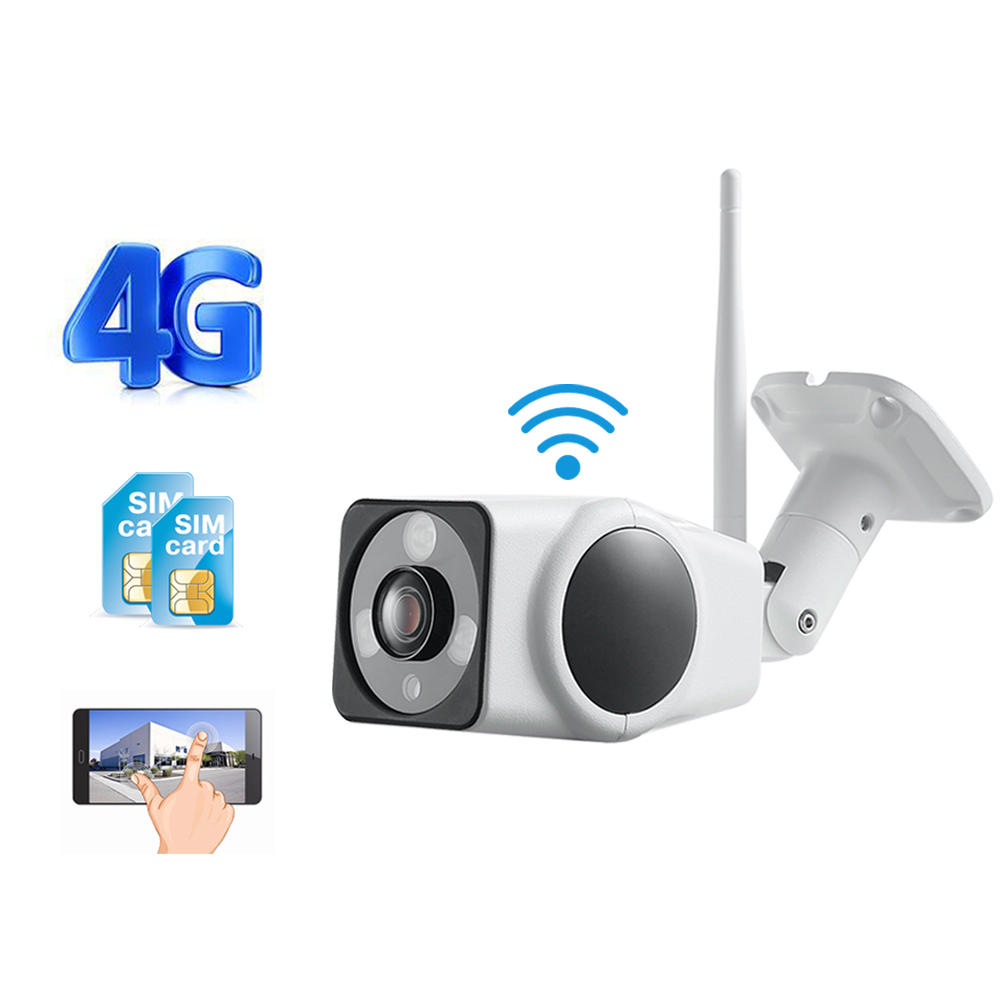 IP Camera WiFI 1080P 720P HD Sim Card 4G 3G GSM Bullet Camera Outdoor Wireless Security
