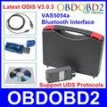 Профессиональный + VAS5054a Интерфейс Bluetooth ОДИС V3.0.3 ODIS VAS 5054a Для VW/Skoda/Seat/Bentley/Lamborghini Многоязычная