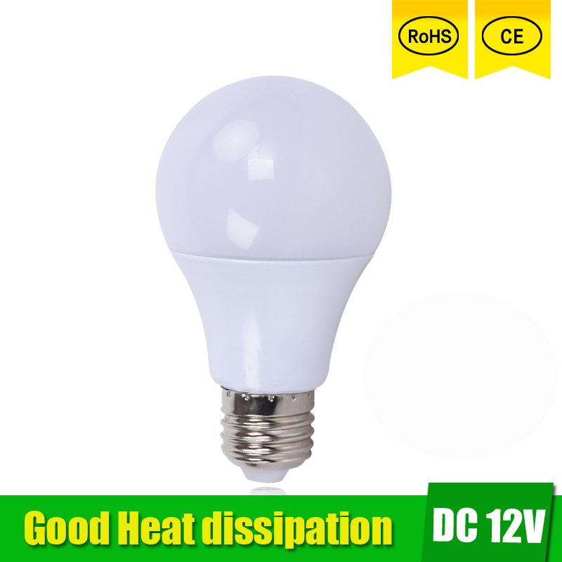 lampada de Led 12v DC 3W 5W 7W 9W 12W 15W LED Lamp led bulb cold white warm white Home Camping Hunting Emergency Outdoor Light