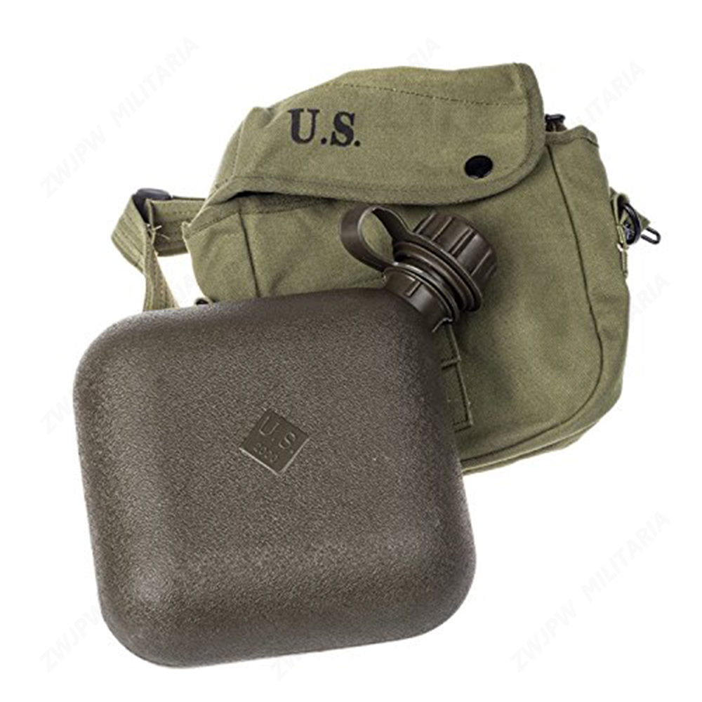 Vietnam War US Army Square Shape Kettle -WWII WW2 Military Canteen