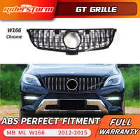 For Mercedes Benz ML Class W166 AMG GT R grille Front Grille FOR ML class ML250 GLE400 GLE450 grille good fitment bumper grill