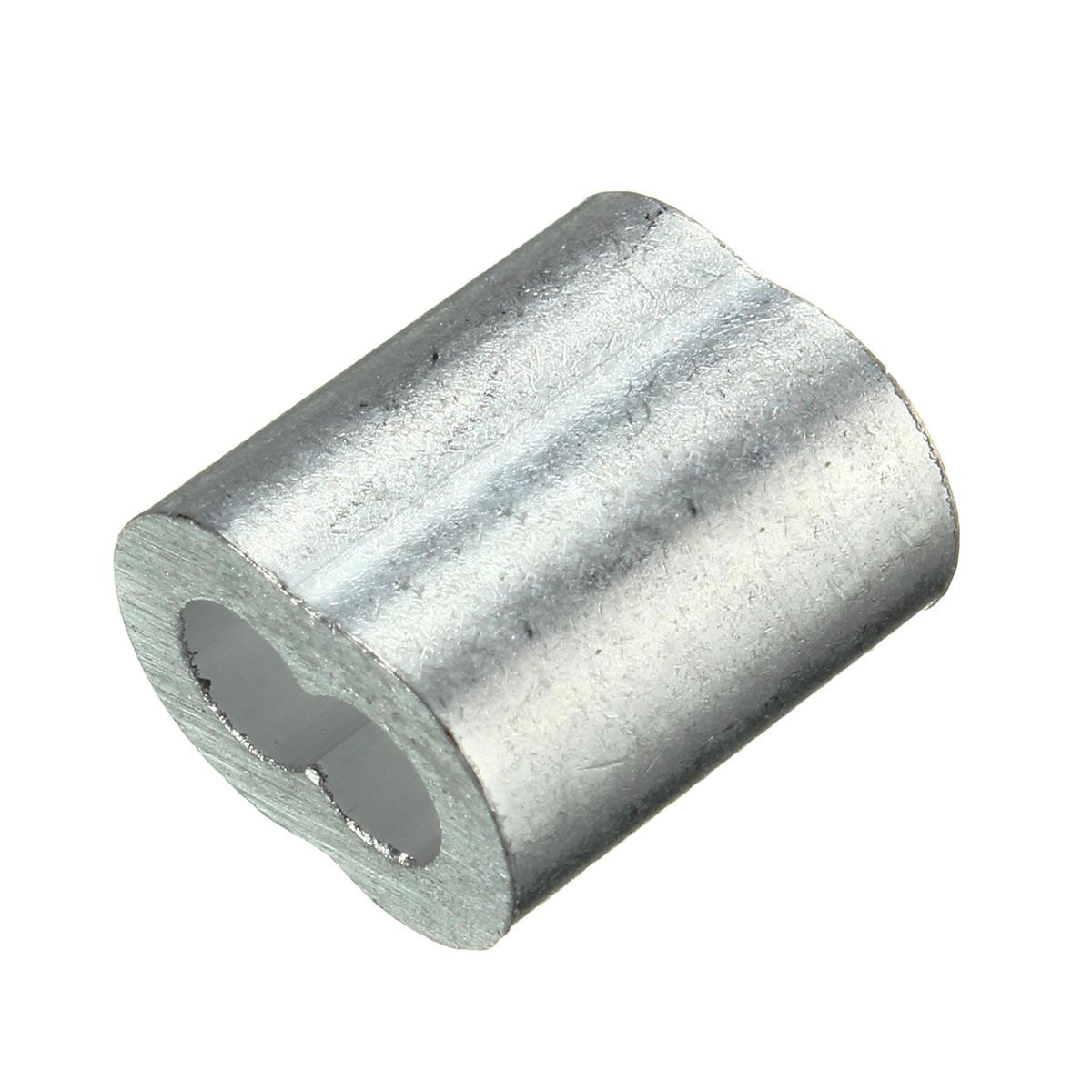 """20 Pack 3mm Thimbles Ferrules For 1//8/"""" 3.2mm Stainless Steel Wire Rope"""